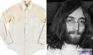 Shirt Stained With John Lennon